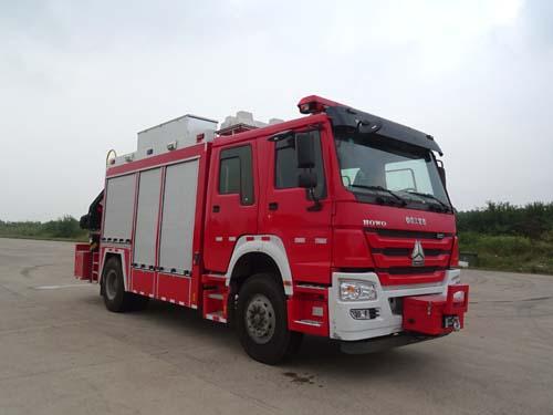 楚勝牌CSC5151TXFJY80/Z型搶險救援消防車
