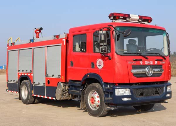 楚勝牌CSC5150GXFSG50/E6型水罐消防車